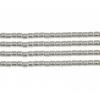 Delica 10/0 Rd Silver Galvanized